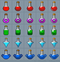Tutorial: How to draw Potions by oni1ink
