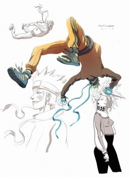 Warm-up wall - Naruto by ChaseConley