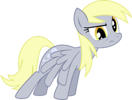 Derpy Hooves is Confused... by BlackGryph0n