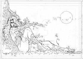 Poison Ivy sketch by qualano