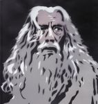 Gandalf the Gray by Ali-Radicali