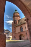 Freudenstadt Church HDR 1 by Rellim