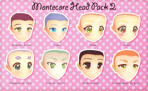 Montecore Head Pack 2 DL by Xoriu