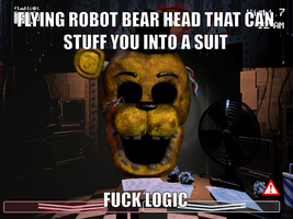 FNAF Logic by onyxcarmine