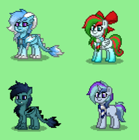 adoptable pony town characters!  ~CLOSED! by Briethedragon1121
