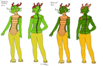 DBZ: Shenron Cosplay Outline Version 2. by CrimsonVampiress