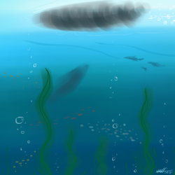 Daily Art Challenge #220: Under the Sea by SnowCrasher
