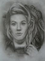 Ellie Goulding Portrait by CurlyWurly808