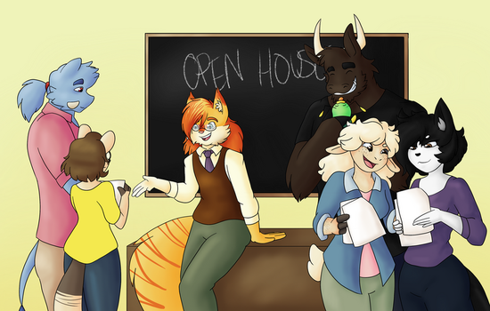 Open House by BeckImaginative