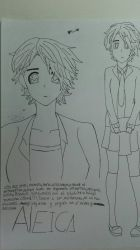 Aleica : my new OC :3 by Mikal04-12