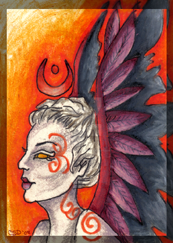 ACEO The Dedicant by PhantomsRose