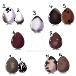 Mystery eggs {CLOSED} 0/11 by SoulsofTheDoomed