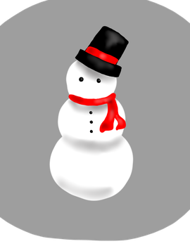 Snowman by Shadened