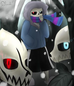 Lost Sans (request for SansFangirl4life) by Bluecake80