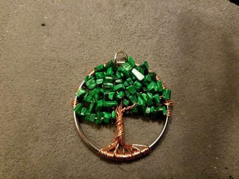 Tree of Life pendant #4 by ponygirl