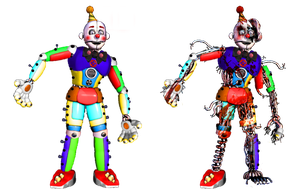 Circus Ennard 2.0 by shadowNightmare13