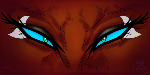 Eyes {Species related: Molterious} by MASTER-K0HGA