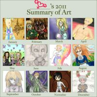 2011 Art Summary by lillilotus