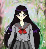 Rei Hino and Spring Days by aleena