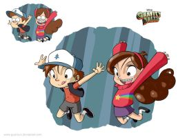 Gravity Falls by Gual-kun