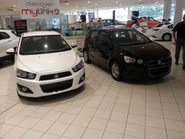 My new car - Holden Barina CD 2013 by TricoloreOne77