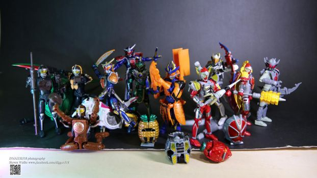 Kamen Rider Gaim Arms action set 3 by Digger318