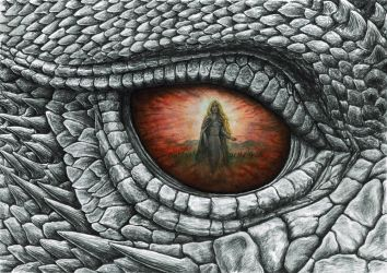 The Eye of Glaurung by MatejCadil