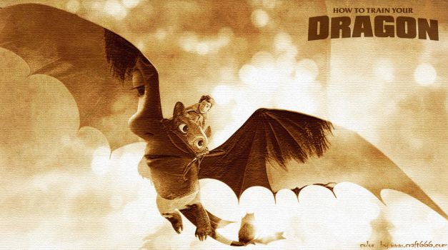 HTTYD  {double exposure} by craft666