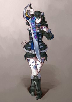 Bloodstained ~ Miriam by vr7