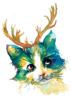 270 Cats at Christmas-3 by tilenti