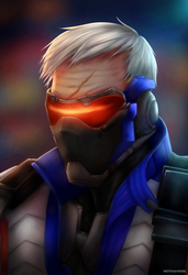 Soldier 76 by Gtoraverse