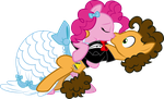 SonictheCaptain Comm Pinkie and Cheese by benybing