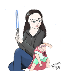 Supermom and Superbaby by Intergrated