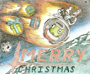 Merry Kerbal Christmas! by StoicLewy