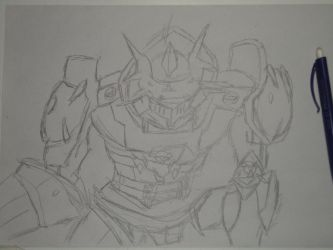 I.. Dukemon W.I.P. Condition by ClawHunter2