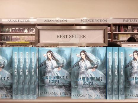 Book Of Immortals Disciple Mock-Up Display 2 by SweetlySouthern