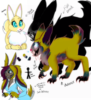 Lolo were demon rabbit reference by KillingKate1