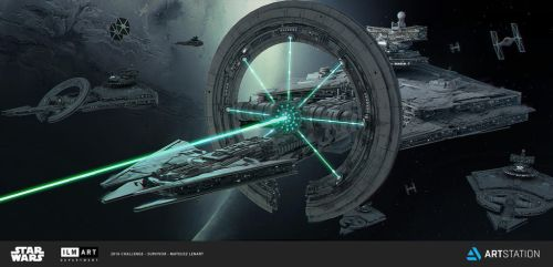 NEW STAR DESTROYER mateusz lenart by Mlenart