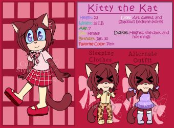 Kitty Reference by CuteArtStyleKitty