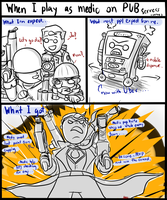 TF2 : When I play as medic in pub by Ainogommon