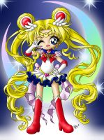 Super Sailor Moon by seraphim-kimiko