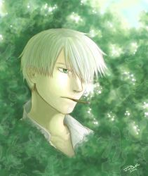 Mushishi - Ginko by jibii