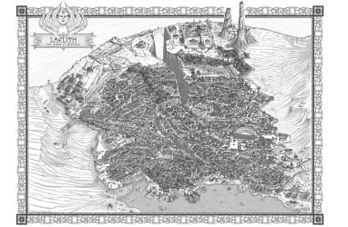 Great City of Laelith by Fred73fr