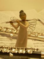 Angel Of Music by lordofflowers
