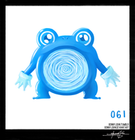 Poliwhirl!  Pokemon One a Day!