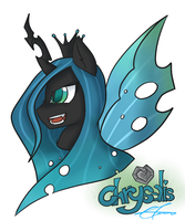 Chrysalis Portrait by Xonitum