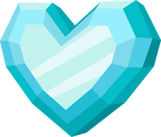 Crystal Heart (Vector) by Chrzanek97