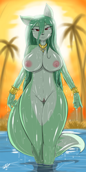Antcow Comm: Persian Foxie SHIREEN by ShoNuff44