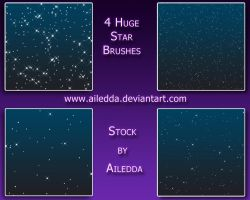 Star Brushes Pack 1 by Ailedda