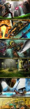 Link vs Zant by marcosbaruco